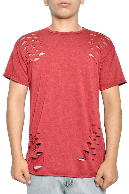 Casual Short Sleeve Jersey T-Shirt - orangeshine.com