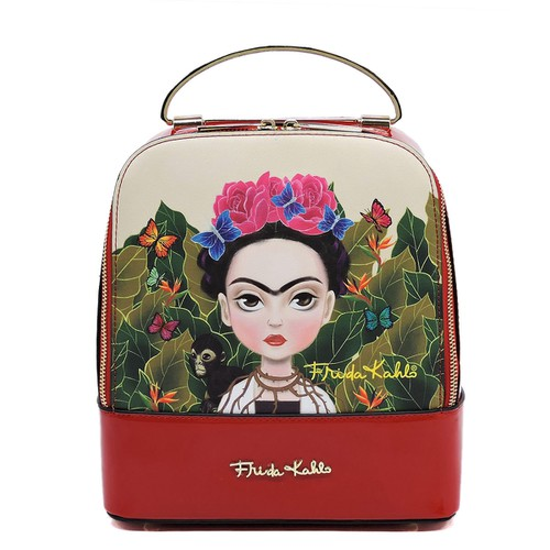 Frida Kahlo Structured Backpack - orangeshine.com
