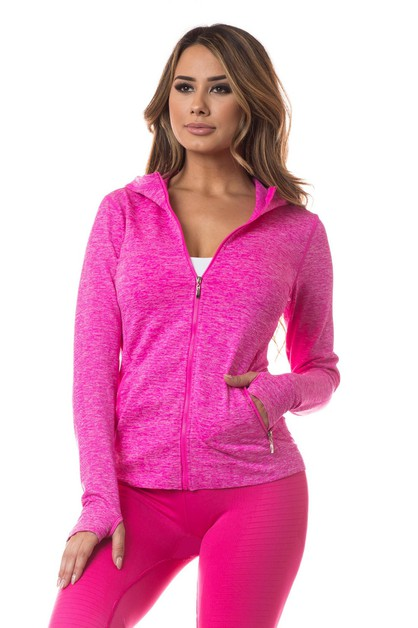 Seamless Active Living Jacket - orangeshine.com