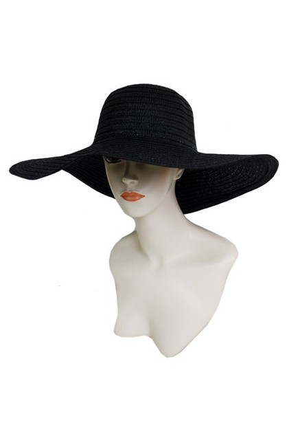 Plain Beautiful Floppy Hat - orangeshine.com