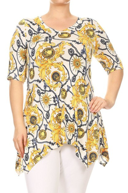 TUNIC TOP PLUS - orangeshine.com