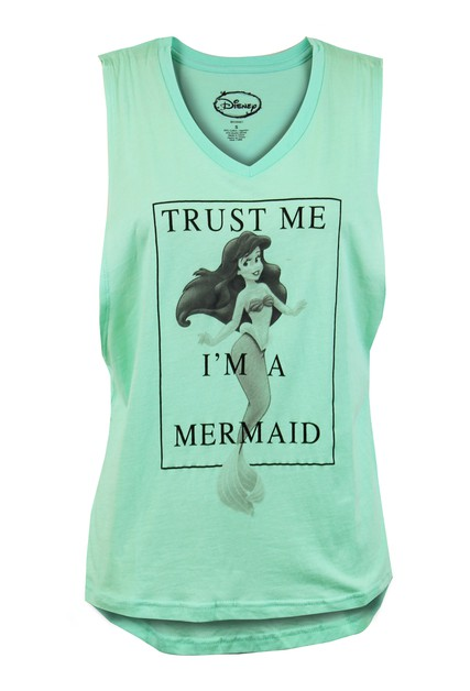 Disney Mermaid Sleeveless Tank Top - orangeshine.com