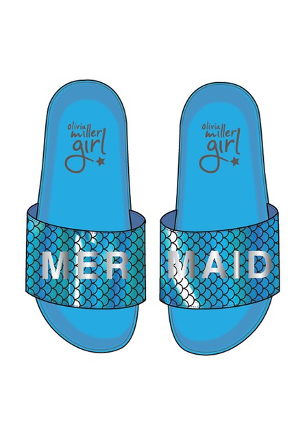 MERMAID SLIP PN POOL SLIDE - orangeshine.com