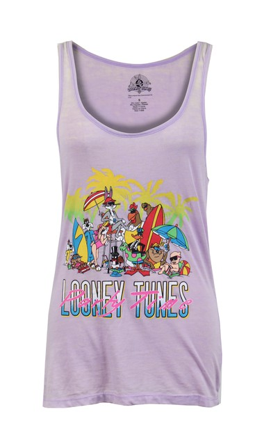 Looney Tunes Party Time Tank Top - orangeshine.com
