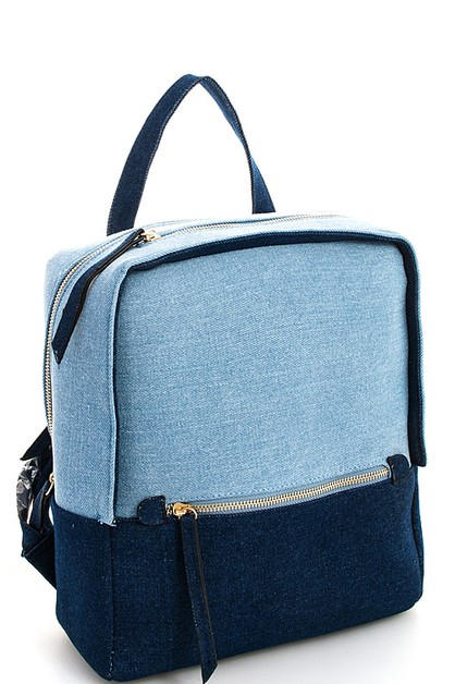 Hot Trendy Denim Backpack - orangeshine.com