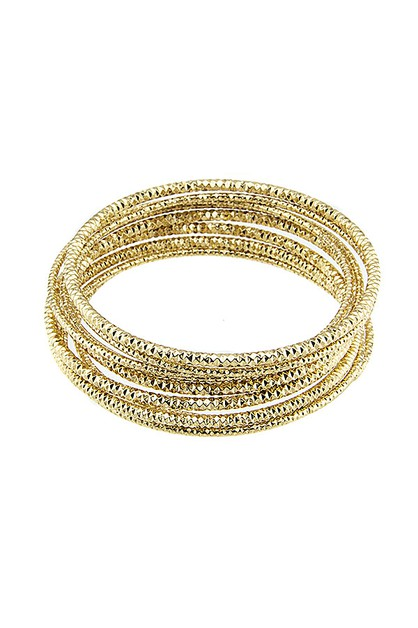METAL BANGLE SET - orangeshine.com