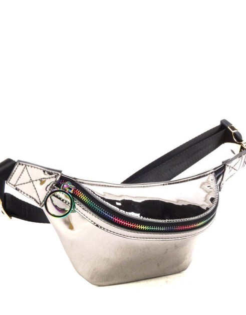 Fun Metallic Fanny Pack  - orangeshine.com