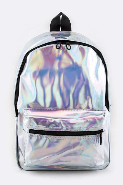 Holographic Backpack - orangeshine.com
