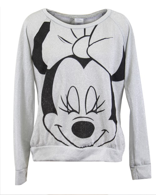 Disney Minnie Metallic Sweater - orangeshine.com