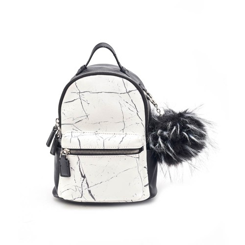 Marble Print Mini Backpack  - orangeshine.com