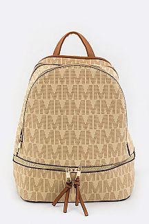 Monogram Mini Backpack - orangeshine.com