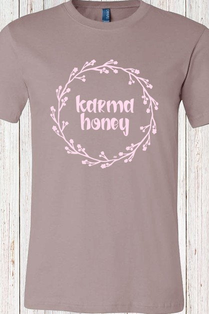 Karma Honey Tee - orangeshine.com