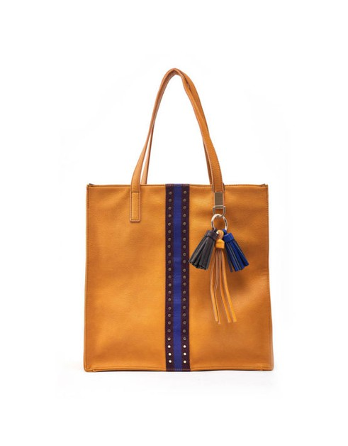 Modern Top Handle Tote - orangeshine.com