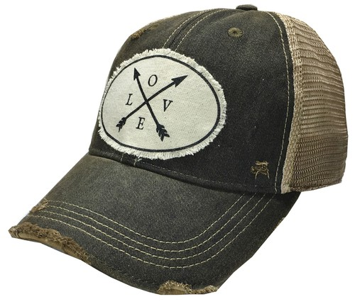 Love Trucker Hat - orangeshine.com