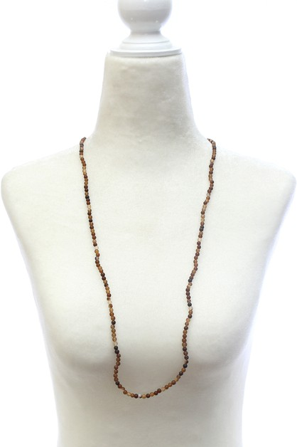 BEAD NECKLACE SET - orangeshine.com