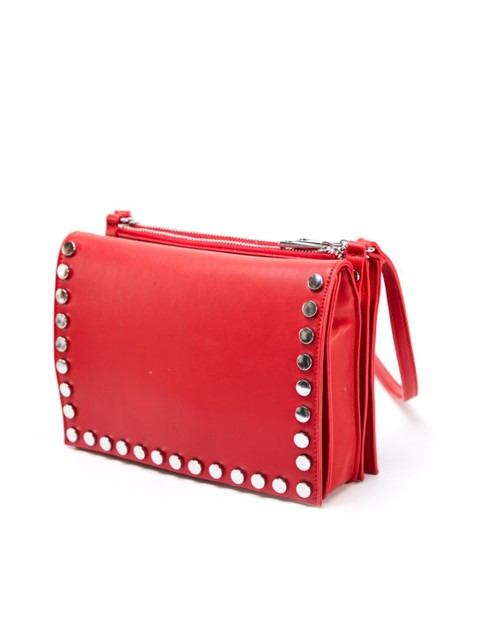Crossbody Bag With Silver Studs - orangeshine.com