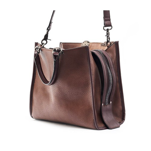 Modern Everyday Top Handle Satchel  - orangeshine.com