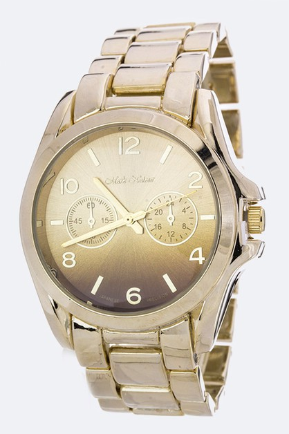 Gradien Color Crystal Watch - orangeshine.com