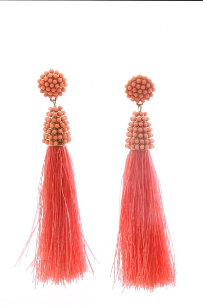 COLOR DANGLE EARRING - orangeshine.com