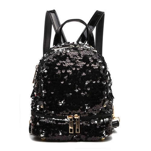 Sequin Small Backpack - orangeshine.com