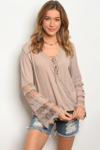 TAUPE TOP - orangeshine.com