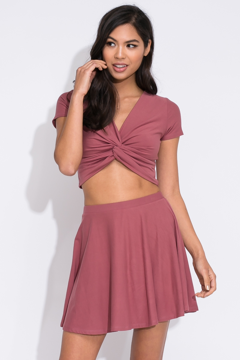 TOP AND SKIRT SET - orangeshine.com