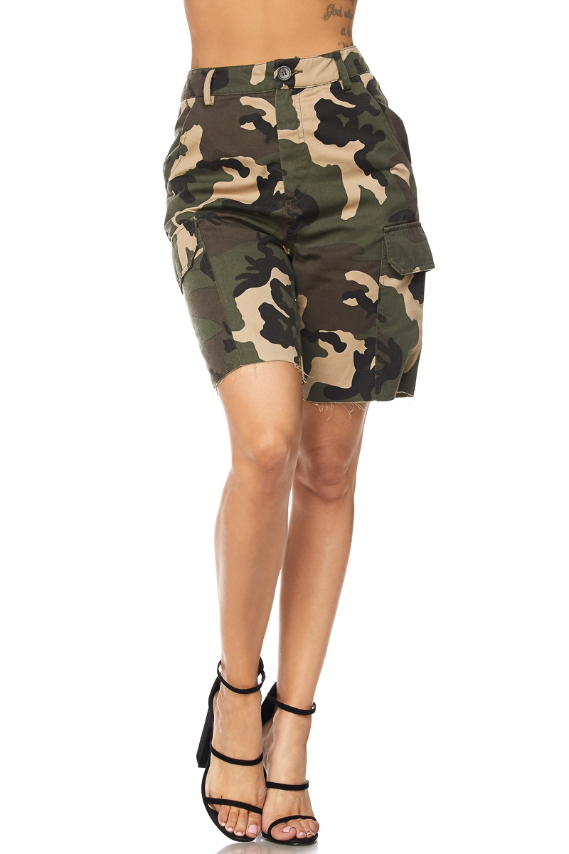 CAMO SHORTS - orangeshine.com