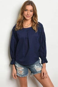 NAVY TOP - orangeshine.com