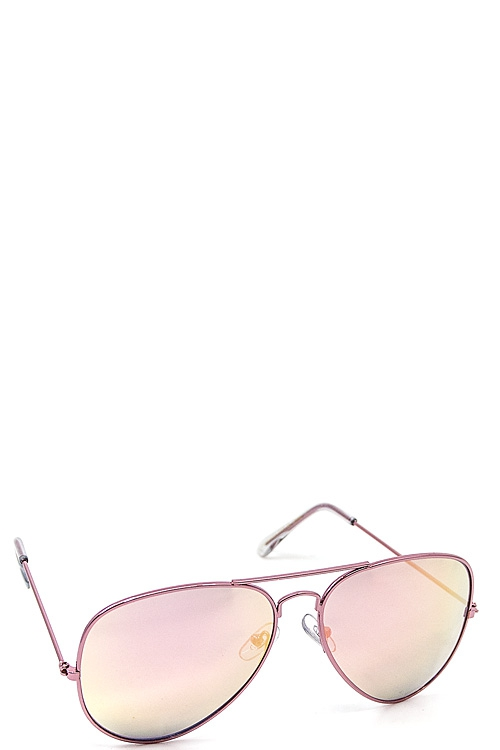 Trendy Pink Aviator Sunglasses  - orangeshine.com