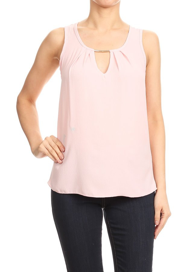 relaxed style with a scoop neck - orangeshine.com