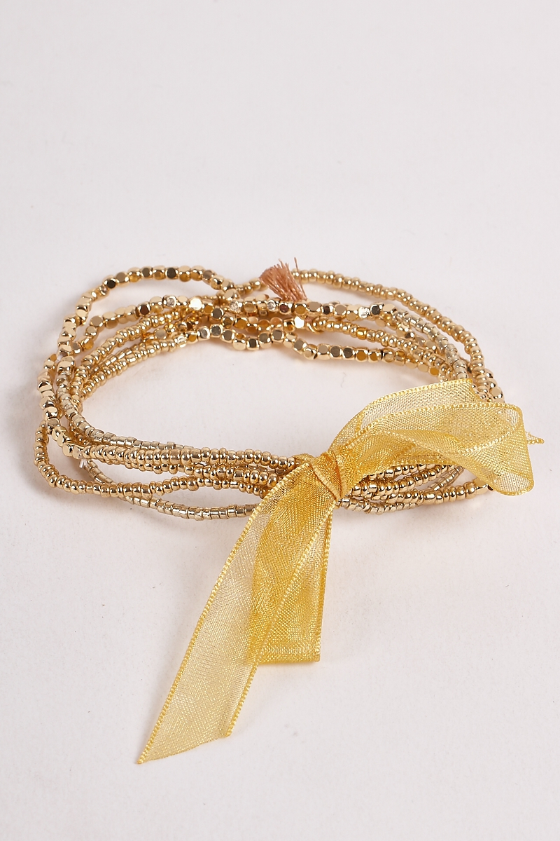 Multi Layered Bling Laced Bracelets - orangeshine.com