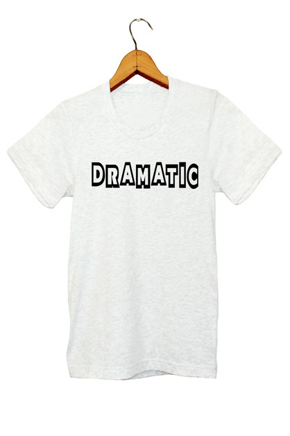 DRAMATIC GRAPHIC TEE - orangeshine.com