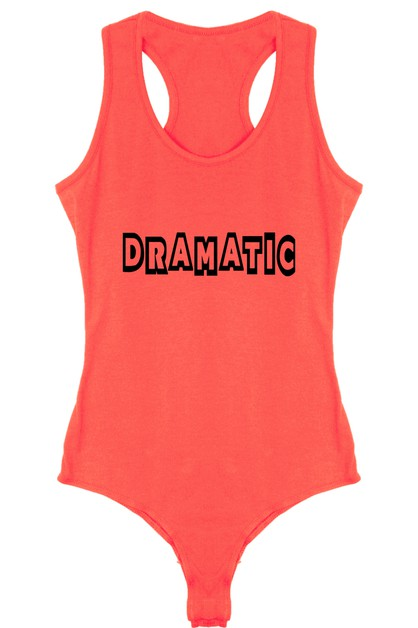 DRAMATIC BODYSUIT - orangeshine.com