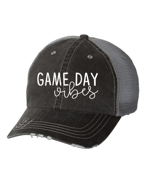 Game Day Vibes Trucker Hat - orangeshine.com