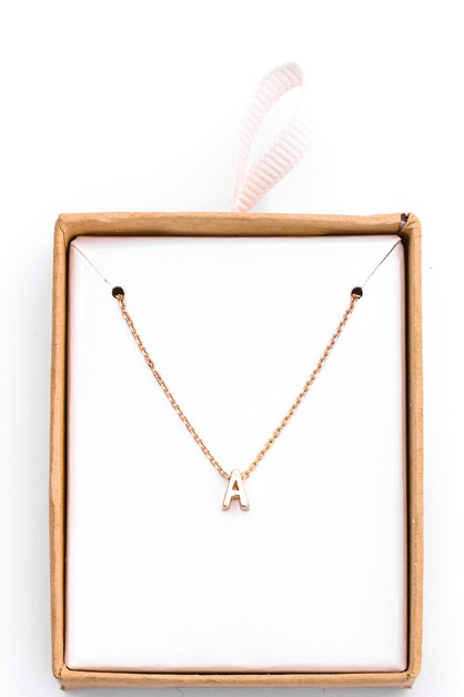 Dainty Chic Letter Pendants Necklace - orangeshine.com