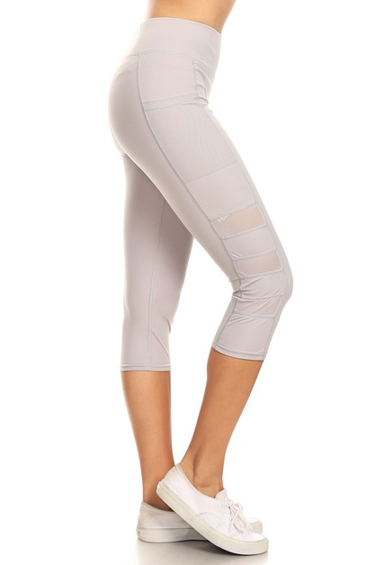 Mesh side work out legging  - orangeshine.com