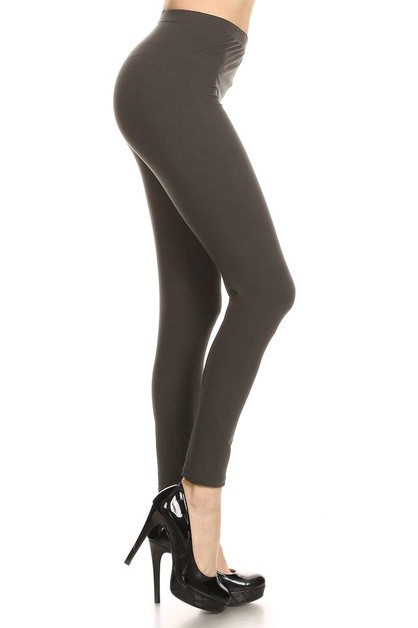 Soft poly brushed legging - orangeshine.com