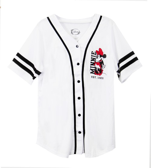 Disney Minnie Baseball Jersey Plus - orangeshine.com
