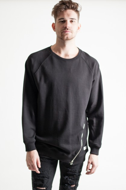 TALL RAGLAN SWEAT SHIRT - orangeshine.com