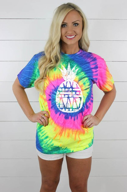 PineappleTieDye - orangeshine.com