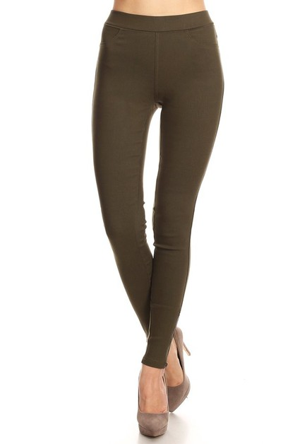 Skinny Super Stretchy Jegging  - orangeshine.com