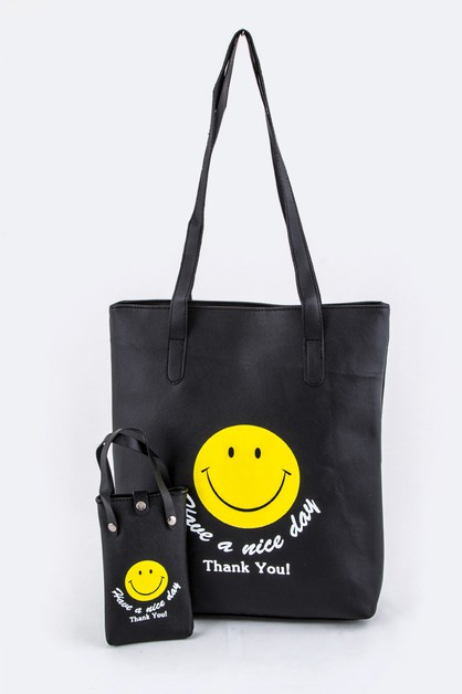 HAVE A NICE DAY Iconic Tote - orangeshine.com
