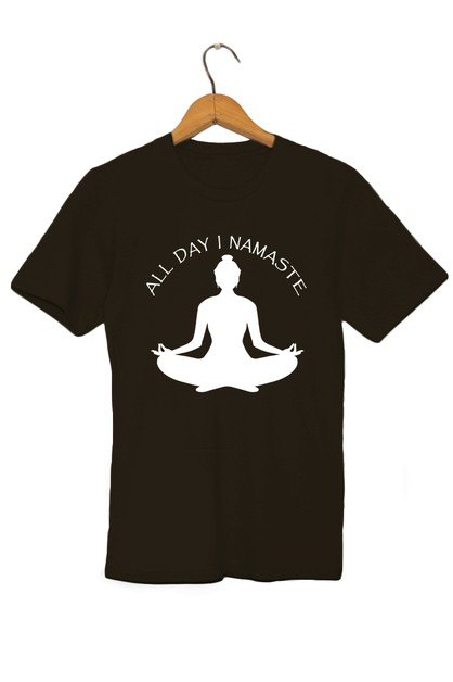 ALL DAY I NAMASTE TEE - orangeshine.com