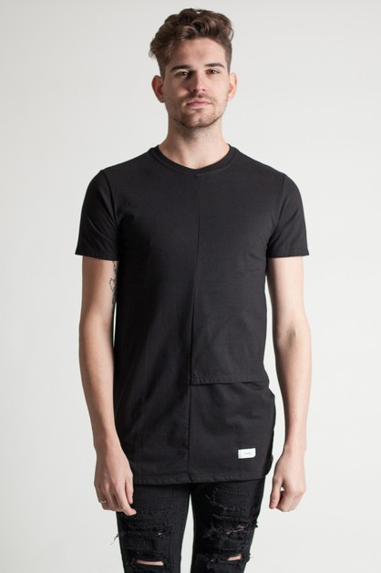 LAYERED PANEL TEE - orangeshine.com