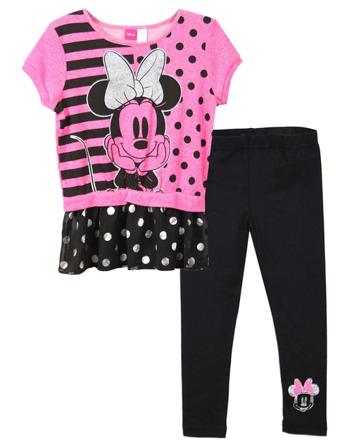 Disney Minnie Mouse Flutter Top with - orangeshine.com