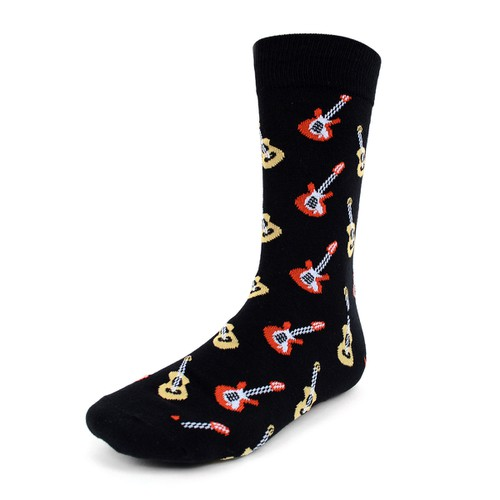 Men Guitar Novelty Socks - orangeshine.com