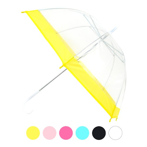 Kids See-Thru Clear Umbrella  - orangeshine.com