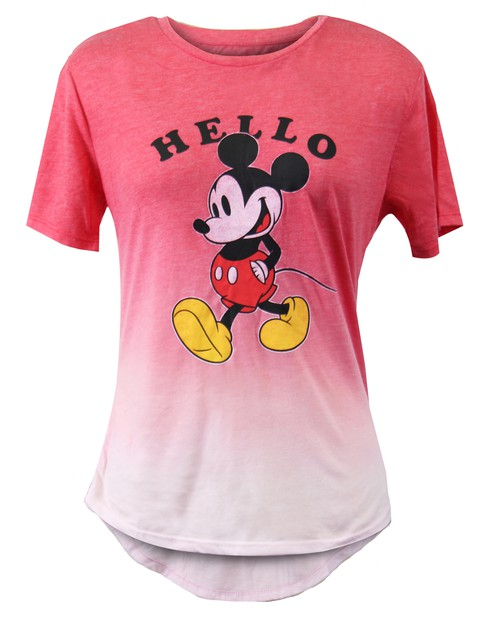 Disney Mickey Mouse High Low T-shirt - orangeshine.com