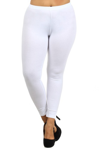 SOLID FULL LENGTH LEGGINGS - orangeshine.com