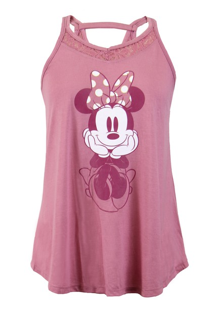 Disney Minnie Mouse Lace Tank Top - orangeshine.com